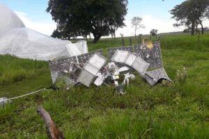 Mais um balão com satélite cai em fazenda de MS