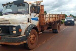 Ciclista fica em estado grave ao ser atropelado por caminhão em Dourados