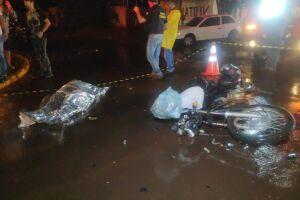 Mulher morre em acidente na Monte Alegre em Dourados