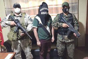 Chefão preso na fronteira de MS é o 3º narcotraficante mais procurado do Paraguai