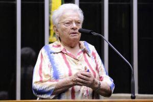 Psol lança o nome de Erundina para disputar a presidência da Câmara