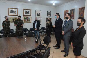 Alan Guedes toma possa como presidente na Junta Militar