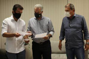 Projeto é finalizado e Reinaldo garante a Marçal duplicação da Coronel Ponciano