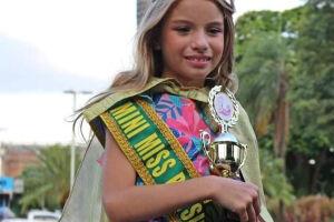 Sul-mato-grossense ganha concurso de Mini Miss Brasil no Paraná