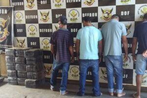 4 são presos com 230 kg de maconha em churrascaria em Dourados