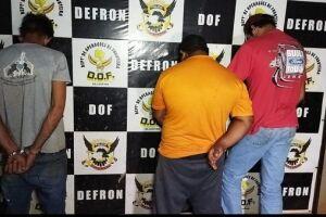 Defron prende mais de 60 kg de drogas em Dourados; 3 são presos