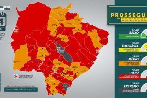 Toque de recolher começa mais cedo em 49 municípios de MS