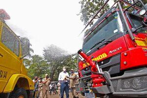 Imasul e bombeiros iniciam ação preventiva contra incêndios nos parques estaduais