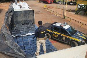 Polícia apreende mais de 7 toneladas de maconha