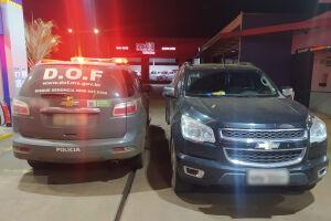 Família mantida em cárcere privado em Naviraí tem a camionete recuperada pelo DOF em Amambai