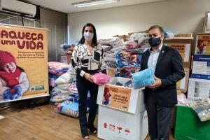 Sejusp supera meta e entrega quase 6 mil peças de roupas para a Campanha do Agasalho