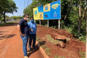 Prefeitura e Sanesul iniciam nesta sexta obra para solucionar erosão causada pela chuva na Presidente Vargas