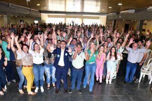 Feijoada de Lançamento da Chapa 10 reúne cerca de 700 advogados no Clube Indaiá