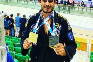 Lutador douradense é destaque na 'Taça Rio' e conquista medalha em 1º lugar
