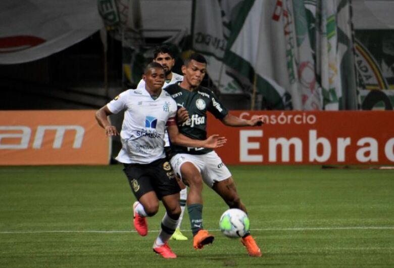 Palmeiras e América-MG empatam em São Paulo