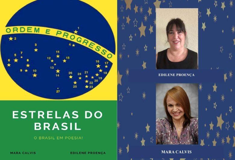Autoras sul-mato-grossense e paulista apresentam livro 'Estrelas do Brasil'