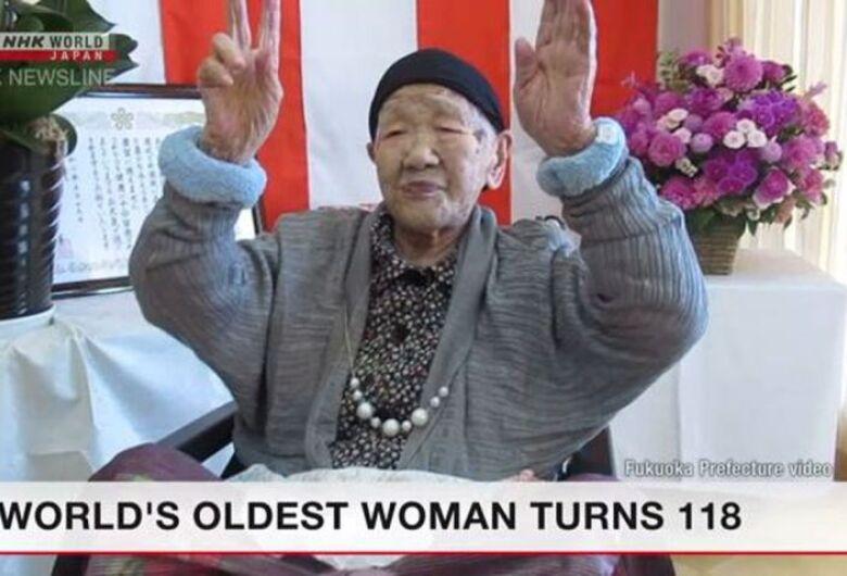 Japonesa mais idosa do mundo faz aniversário de 118 anos