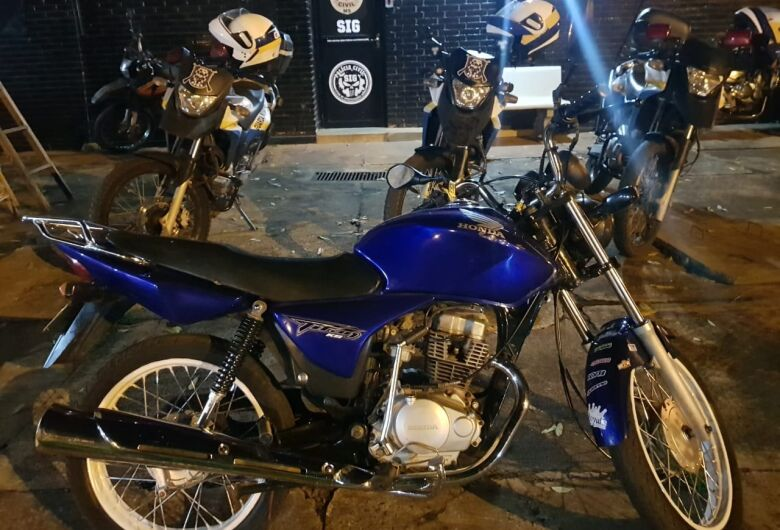 Guarda Municipal recupera motocicleta roubada na Perimetral