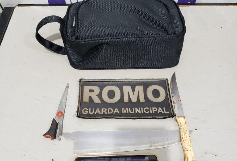 Dupla de assaltantes são presos pela GM após roubarem idoso