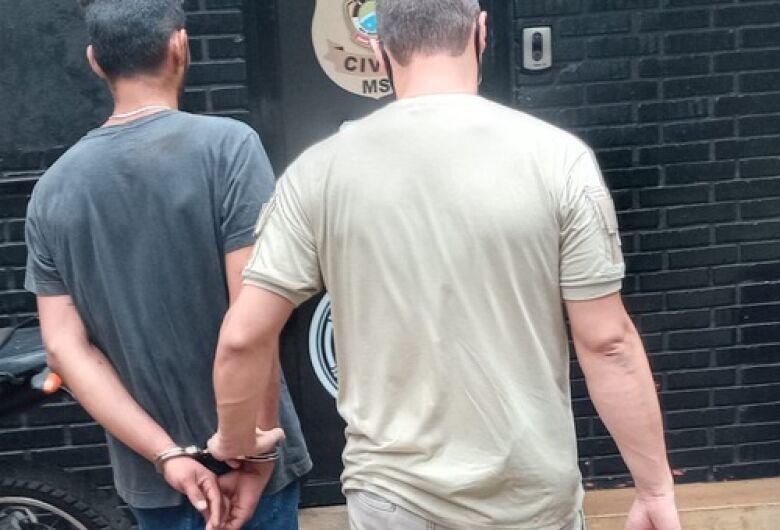 Criminoso especializado em roubos de residências e automóveis é preso pelo SIG