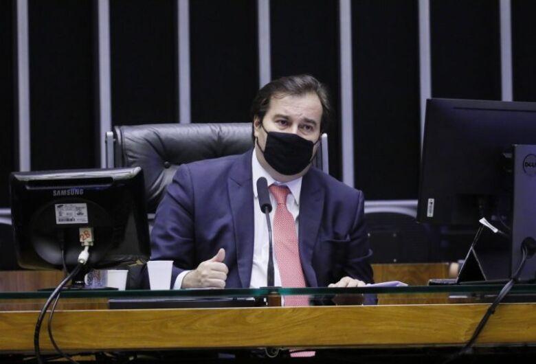 Câmara assumiu a liderança em momento crucial para o país, diz Rodrigo Maia