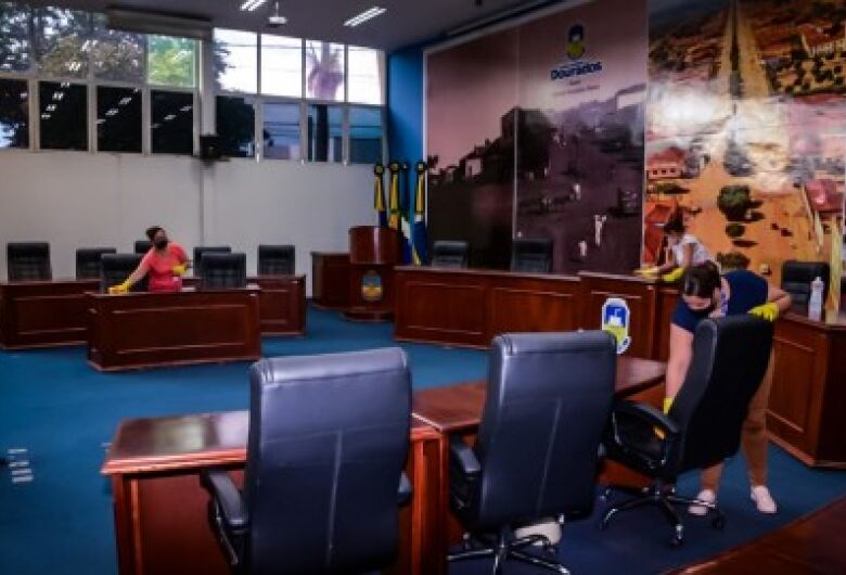 Câmara retoma sessões presenciais no dia 1° de fevereiro