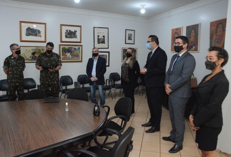 Alan Guedes toma posse como presidente na Junta Militar