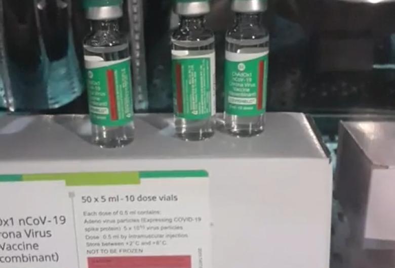 Dourados recebe mais 2,6 mil doses de vacina contra a Covid-19