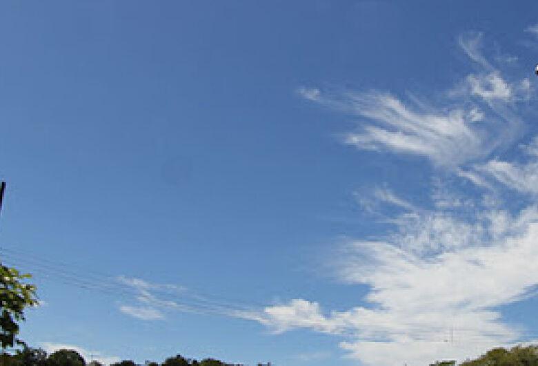 Sábado com tempo seco e temperaturas elevadas em Mato Grosso do Sul