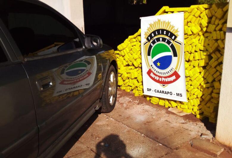Polícia Civil desmantela associação criminosa que mantinha entreposto de entorpecentes em Caarapó