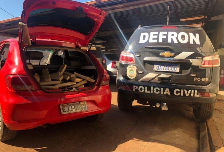 Polícia Civil apreende 130 quilos de maconha