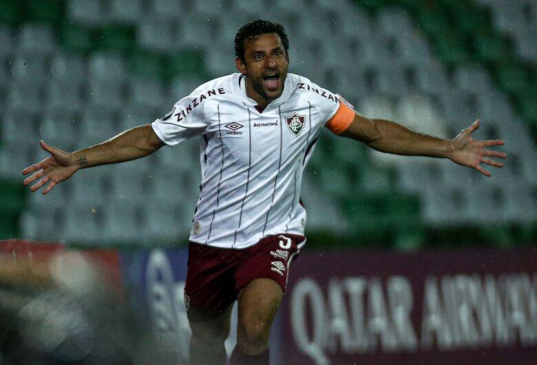 Em noite de Fred, Fluminense vence Santa Fe na Libertadores