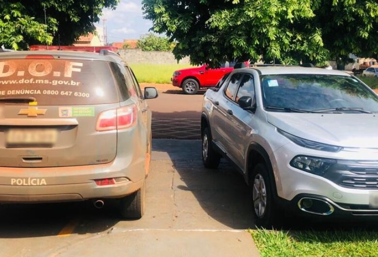DOF recupera carro roubado na capital
