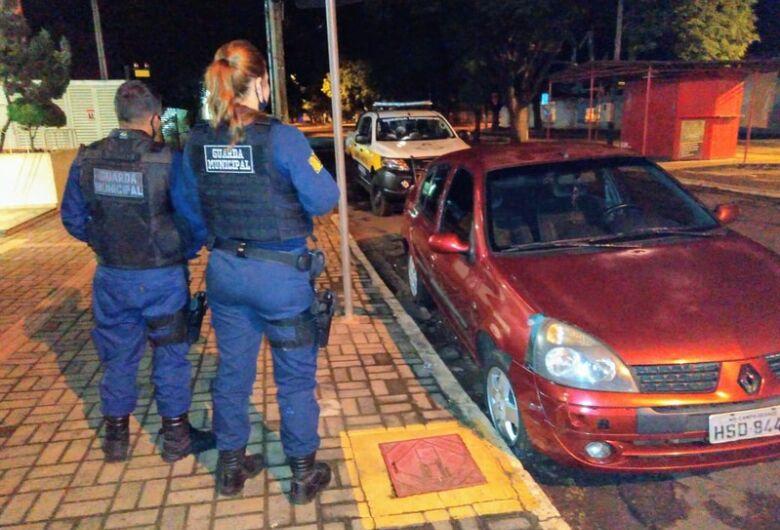 Veículo roubado é recuperado pela Guarda Municipal