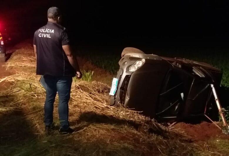 Produtor rural morre em acidente entre Dourados e Itaporã