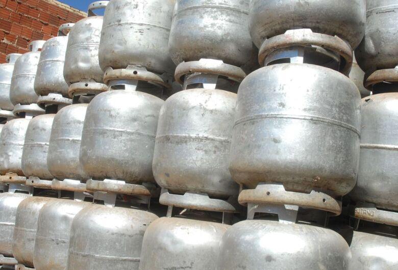 Preço do gás de cozinha em Dourados varia entre R$ 88 e R$ 98