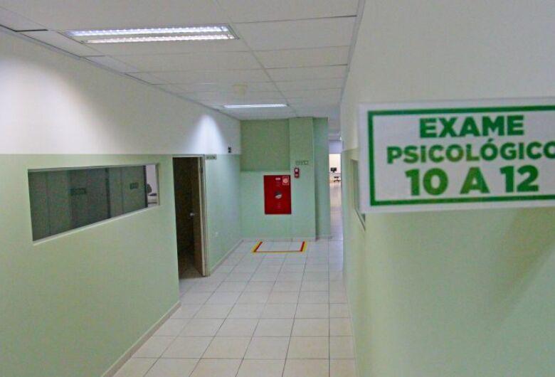 Exames médicos e psicológicos do Detran são realizados em nova sede no Pátio Central