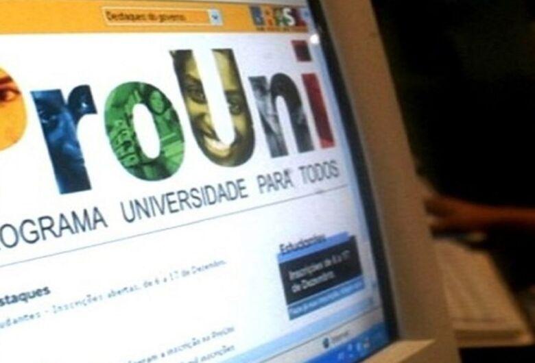 Inscrições para ocupação de bolsas remanescentes do Prouni ocorrerão em 3 e 4 de maio