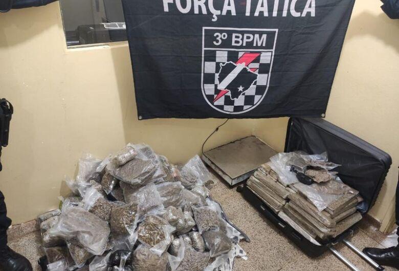Em 4 meses Policia Militar desarticula tráfico doméstico e apreende 1,6 toneladas de drogas
