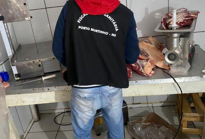 Comércio ilegal de carne é fechado durante operação em Porto Murtinho