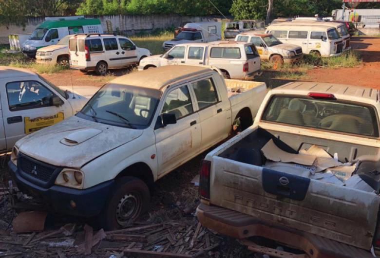 Ambulâncias viram sucatas e indígenas denunciam omissão