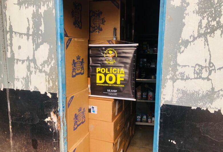 DOF apreende mais de 17 mil pacotes de cigarros contrabandeados