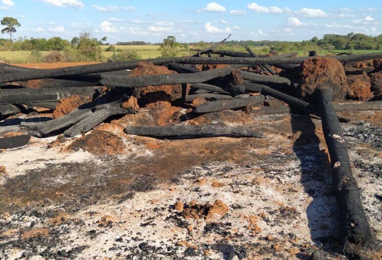 PMA de Dourados multa homem em R$ 15 mil por incêndio em vegetação nativa