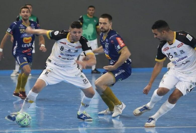 Equipe de Dourados inicia trajetória na Liga Nacional de Futsal 2021
