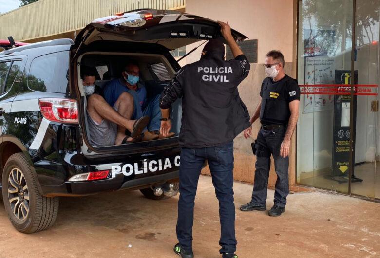 Dois homens são presos por estupro de adolescentes em Ivinhema