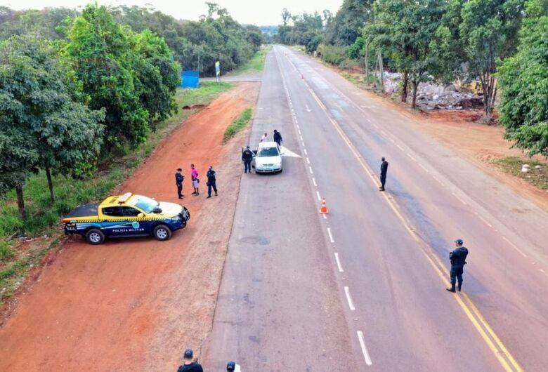 Polícia registra redução de mortes nas rodovias de MS durante feriado