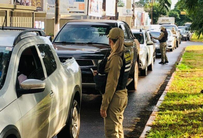 Agetran aborda mais de 1,9 mil veículos nos primeiros 10 dias de lockdown