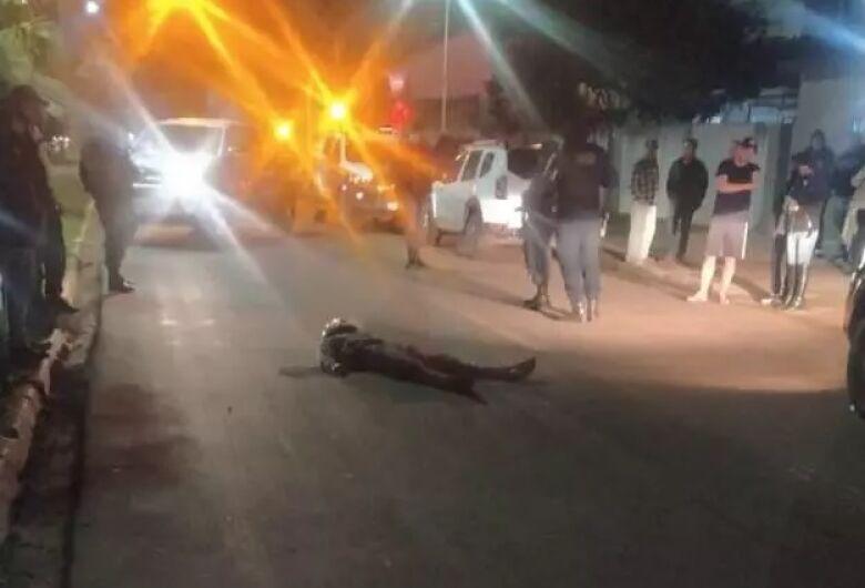 Policial reage a assalto e bandido acaba morto em Ponta Porã
