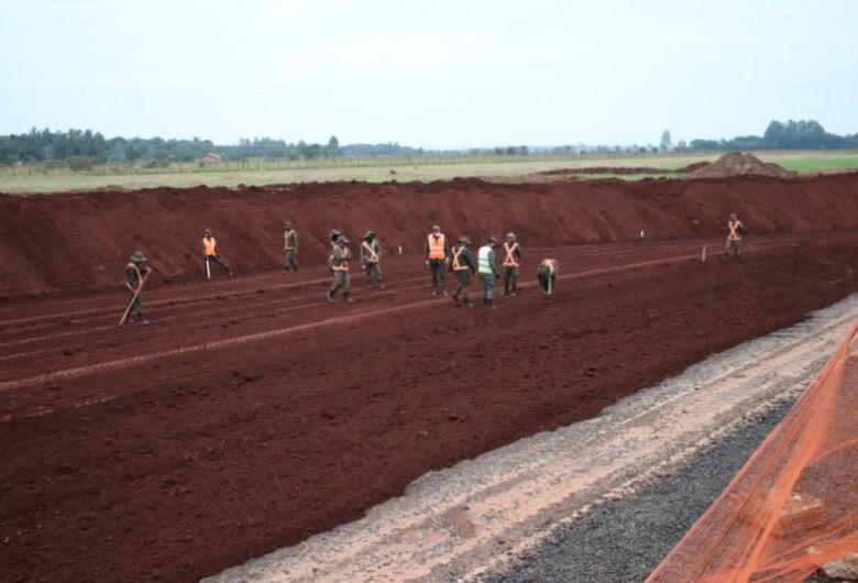 Obras de revitalização do aeroporto municipal já começaram em Dourados