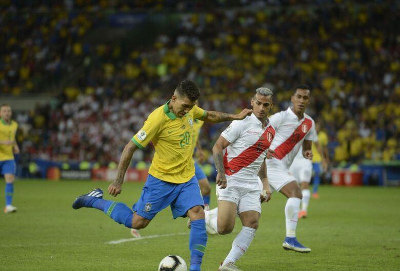 Brasil enfrente seleção peruana no Nilton Santos pela Copa América